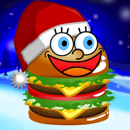 Christmas Yummy Burger Maker Game Free