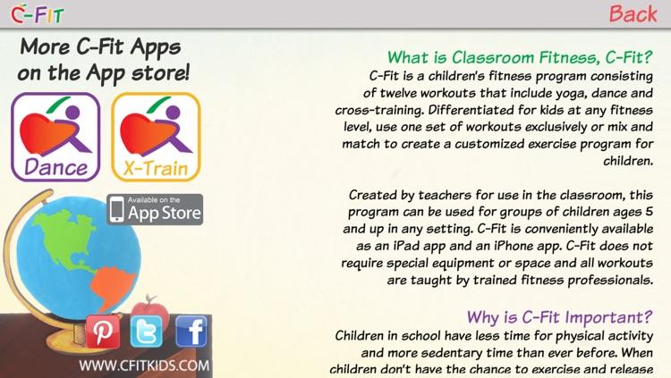 C-Fit Yoga - Classroom Fitness screenshot-4