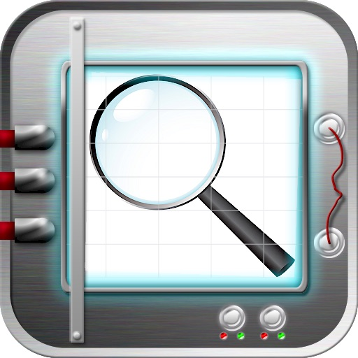 iMagnifier Magnifying Glass & Mirror HD Lite