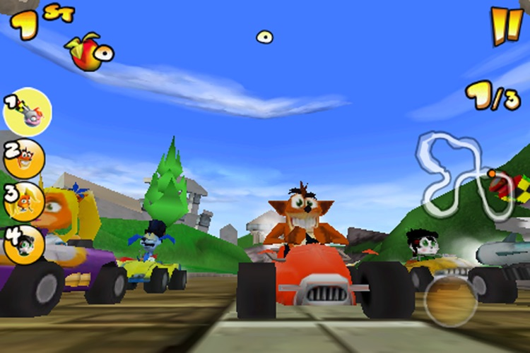 Crash Bandicoot Nitro Kart 2