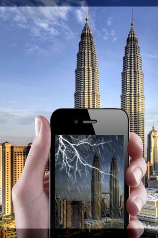 Vinode The Future Weather Forecast AR Appのおすすめ画像1