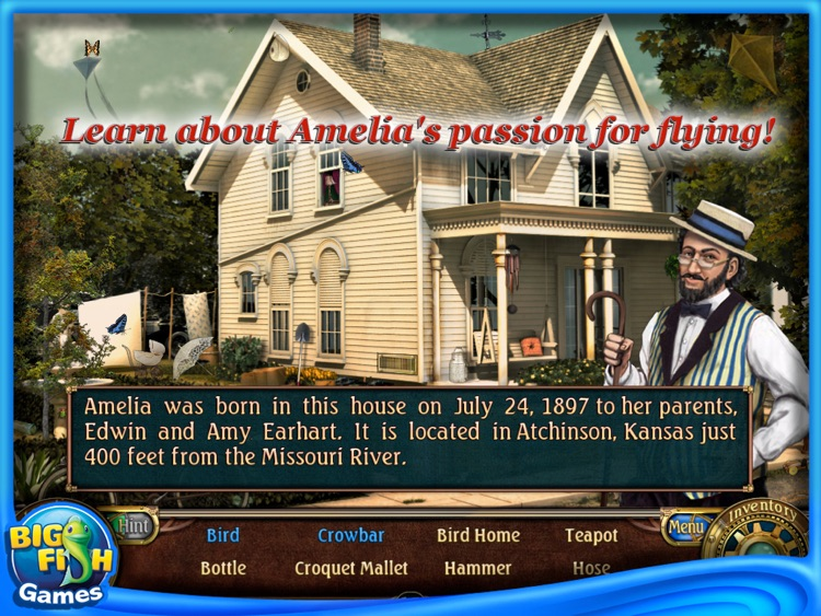 Amelia Earhart: Unsolved Mystery Club HD screenshot-3
