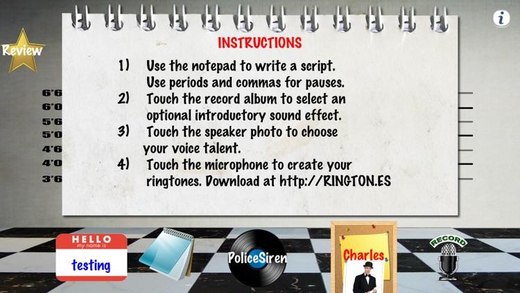 Ringtones Uncensored Pro ringtone & text tone creator for Talking Caller ID screenshot-3
