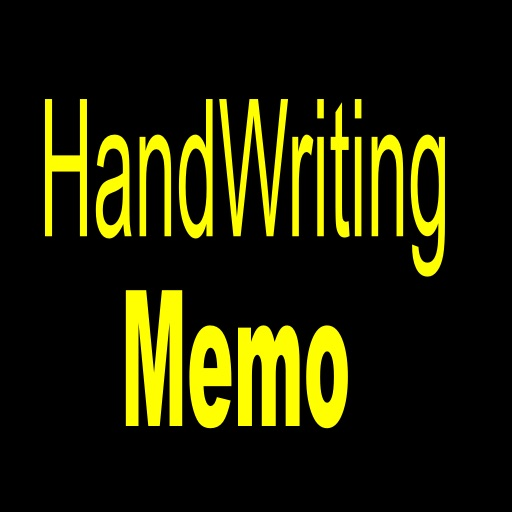 HandWriting memo