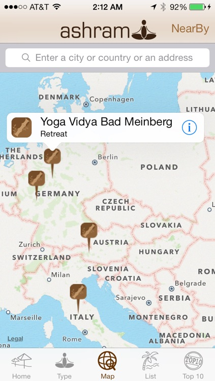 Ashram yoga retreat and spa finder screenshot-4