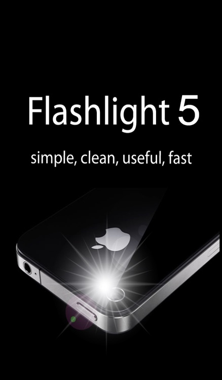 Flashlight ⊕.