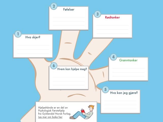 psykologisk førstehjelp app