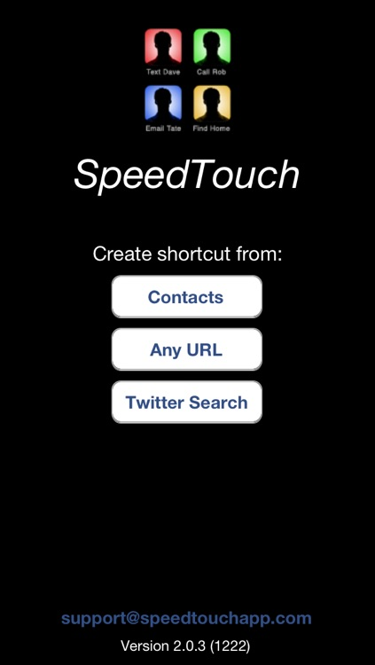SpeedTouch : The Best Home Screen Shortcuts