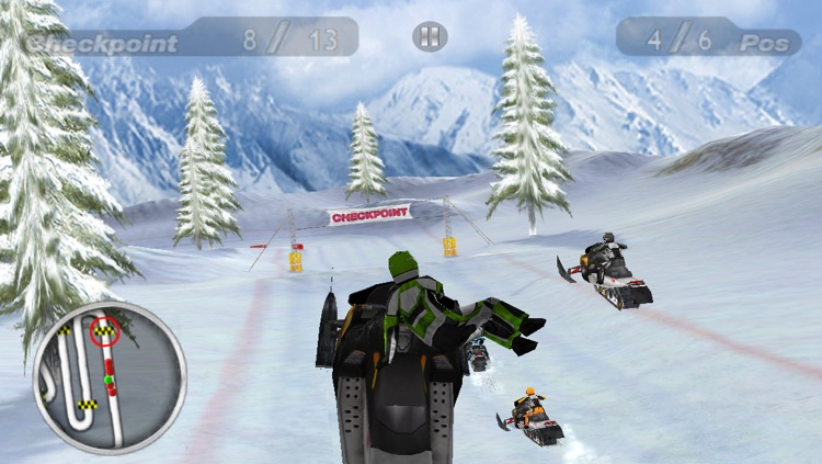 Snow Moto Racing screenshot-4
