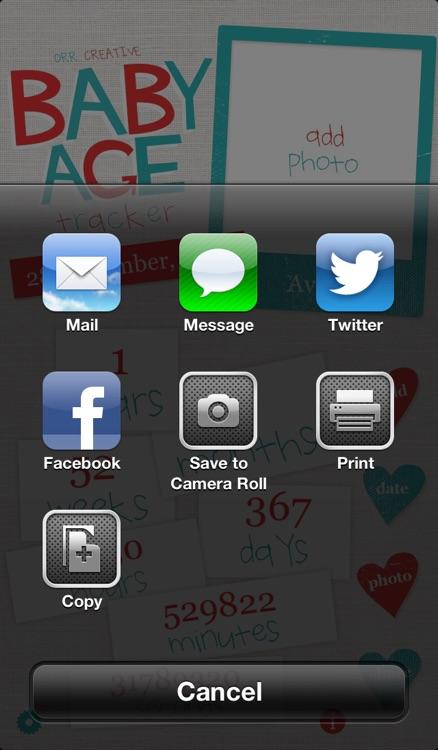 Baby Age Tracker screenshot-4
