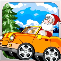 Santa Rush - Car Racing Adventure