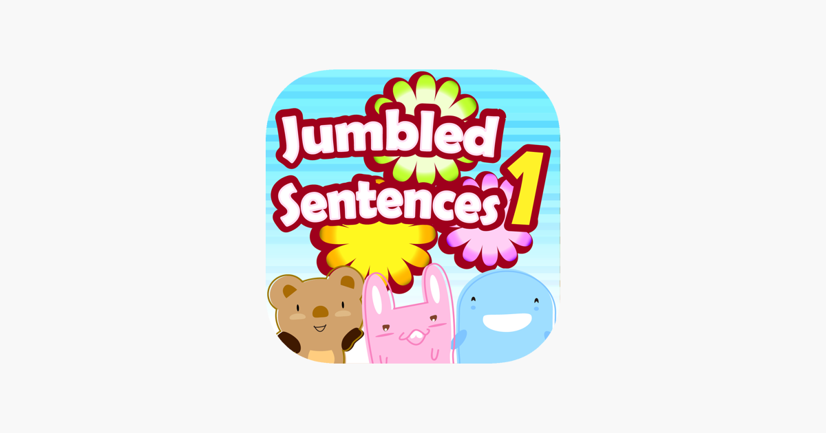 Jumbled Sentences 1 on the App Store
