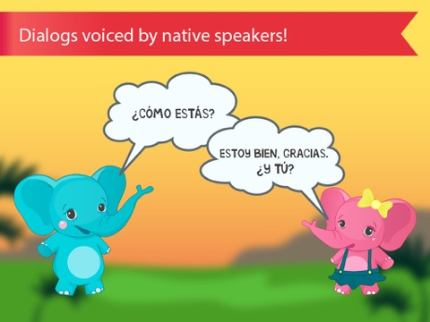 Spanish for kids with benny learning spanish language by flashcards screenshot 4 for spanish for kids with benny learning spanish language by flashcards m4hsunfo