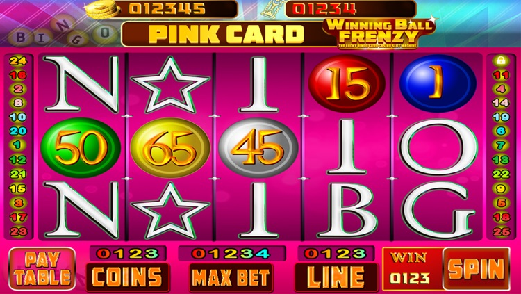 Winning Ball Frenzy : The Lucky Bingo Card Casino Slot Machine - Free Edition
