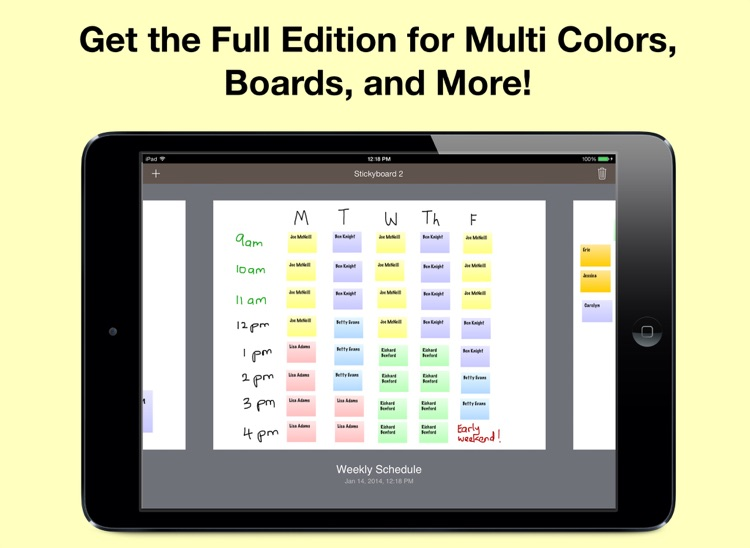 Stickyboard 2 Free Edition: Sticky Notes on a Whiteboard to Brainstorm, Mindmap, Plan, and Organize screenshot-4
