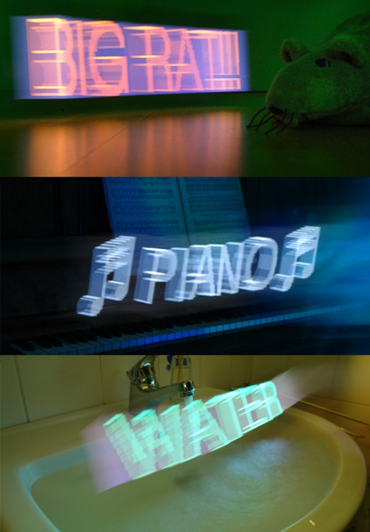 Holographium — The 3D Light Painting Machine