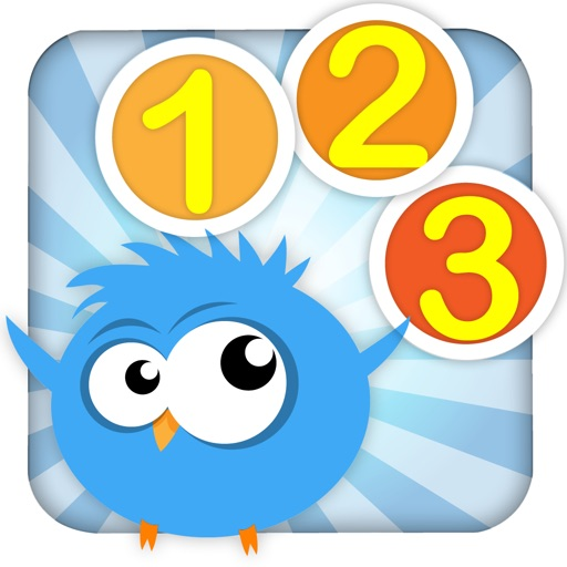 Cute Math - Bird 123