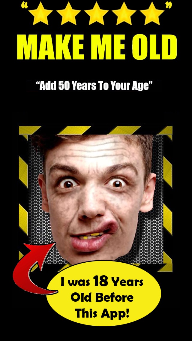 Make Me Old : Photo editing and effects to look older