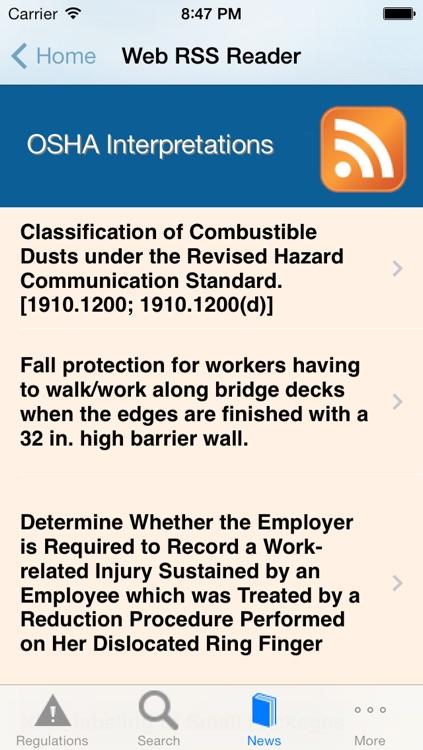 OSHA Safety screenshot-4
