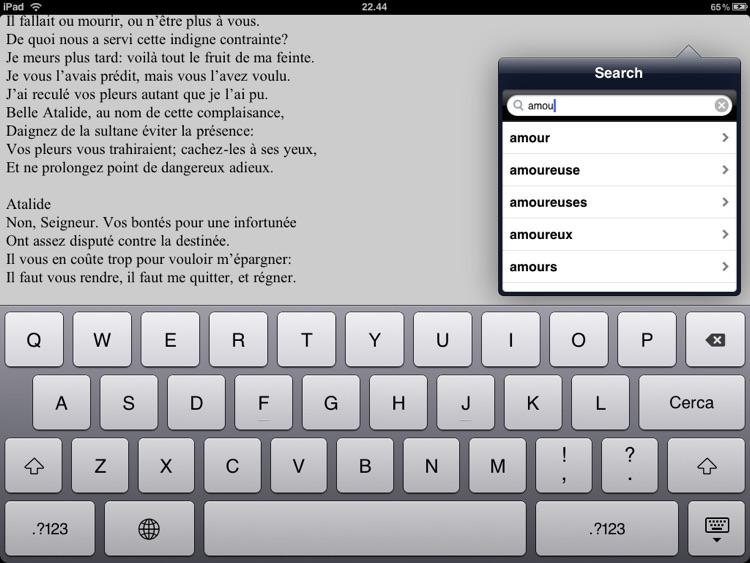Racine: Théâtre et poésies complètes for iPad screenshot-3