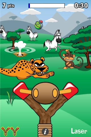 Slingshot Safari Lite screenshot-0