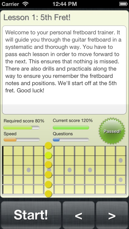 FretWiz: Guitar Fretboard Trainer