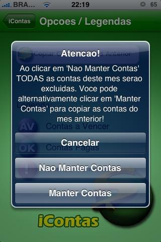 iContas screenshot-3