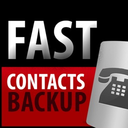 Fast Contacts Backup To Dropbox, iCloud, email, PDF and excel