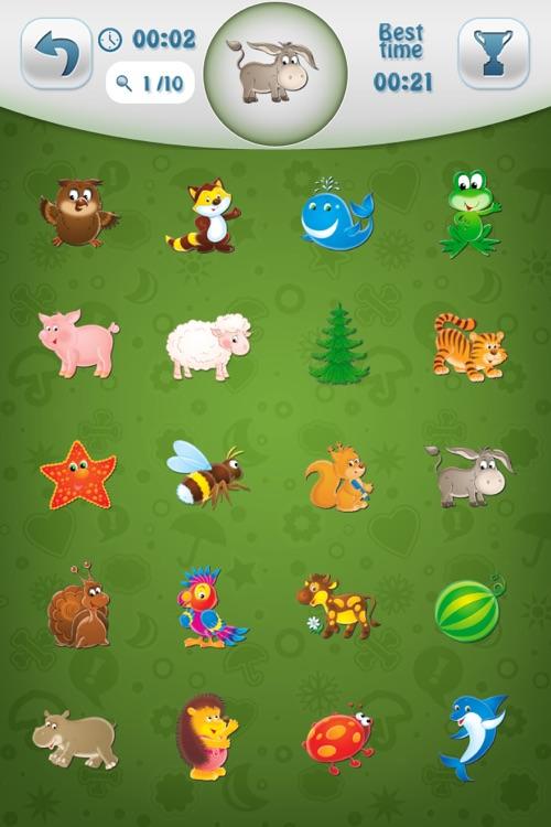 Find It - Match It for Kids HD.