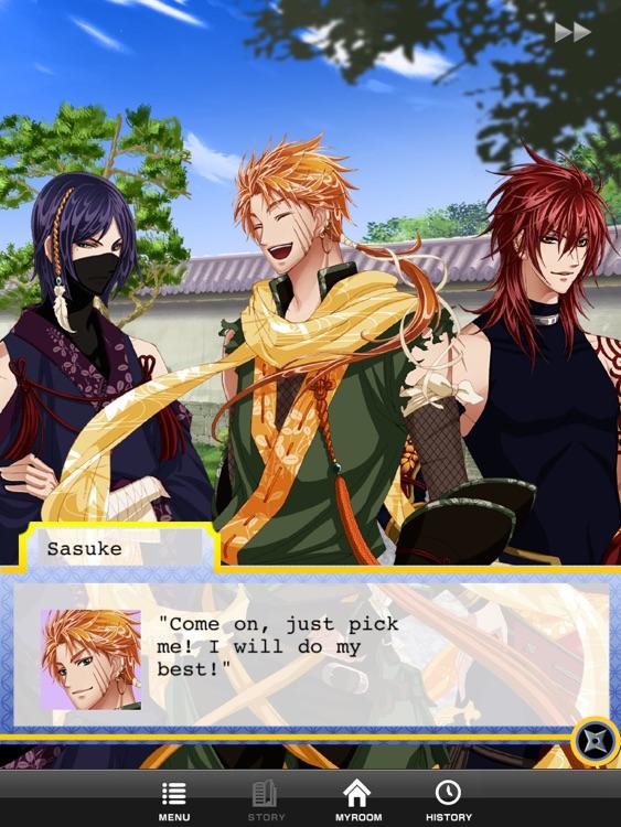 Shall we date?:Ninja Love HD FREE screenshot-4