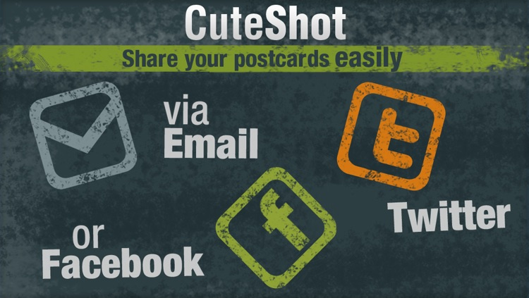 CuteShot - Awesome Postcards screenshot-4