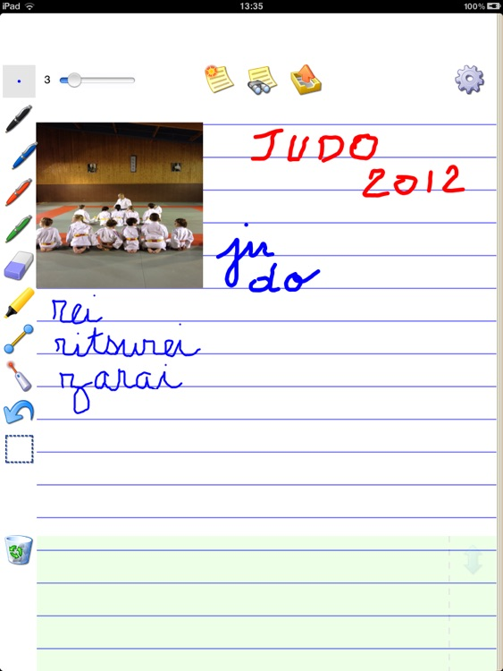 Notebook Free to write, take notes and draw sketches screenshot-3