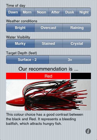 Lure A Fish - Fishing Lure Color Picker
