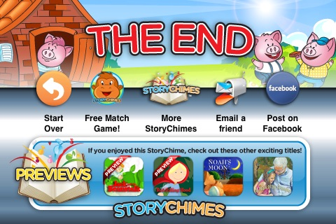 Three Little Pigs StoryChimes screenshot-4