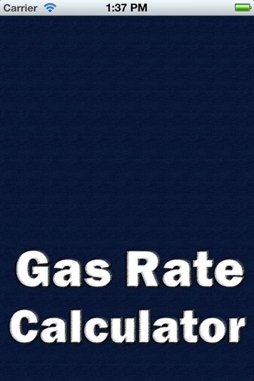 Gas Rate Pro Calculator