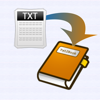 Txt2Book - Create epub book from text and read in iBooks or Stanza