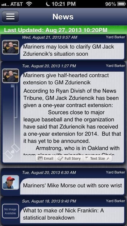 Seattle Baseball Live screenshot-3