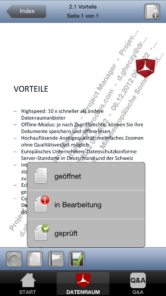 Drooms® für iPad und iPhoneScreenshot von 3