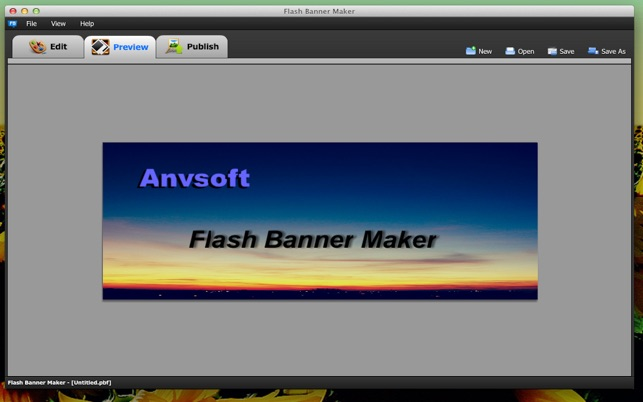AnvSoft Banner Maker Free On The Mac App Store