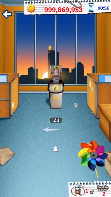 Basketball Paper Flick Pocket Pro – The Top Free Basket Throw Arcade Game screenshot-4