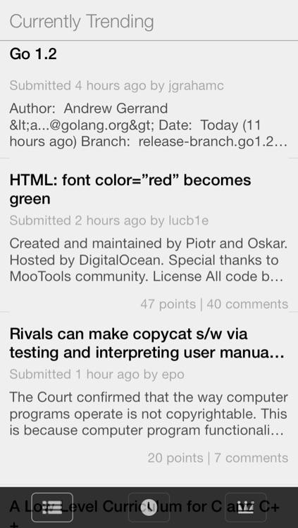 Hacker News Reader - Tech News, YC News, Top Stories