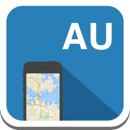 Australia offline map, guide, weather, hotels. Free GPS navigation.