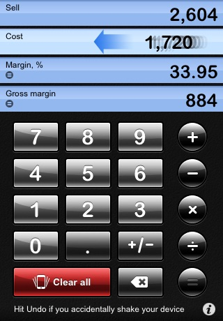 iMargin - Margin Calculator