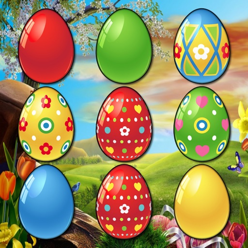 Easter Egg Match Free - Best Slider Puzzle Game icon