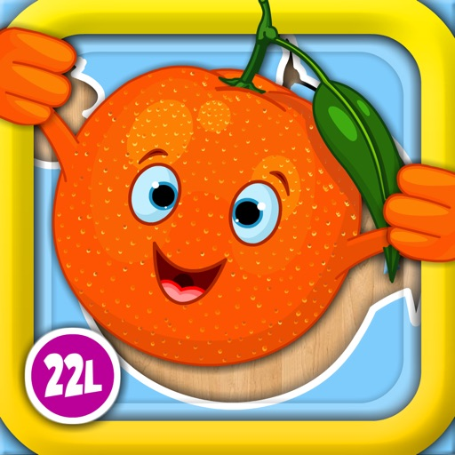 Abby Monkey® Shape Food Puzzle: First Words Learning Games for Toddlers and Preschool Explorers icon