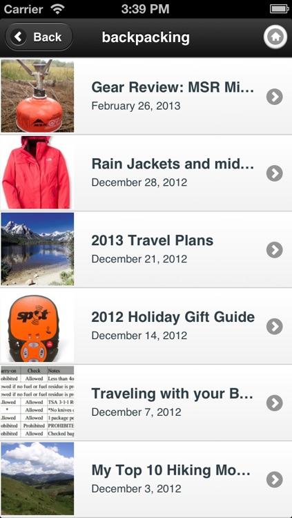 Tripleblaze Topo: Campgrounds and Hiking Trails screenshot-4