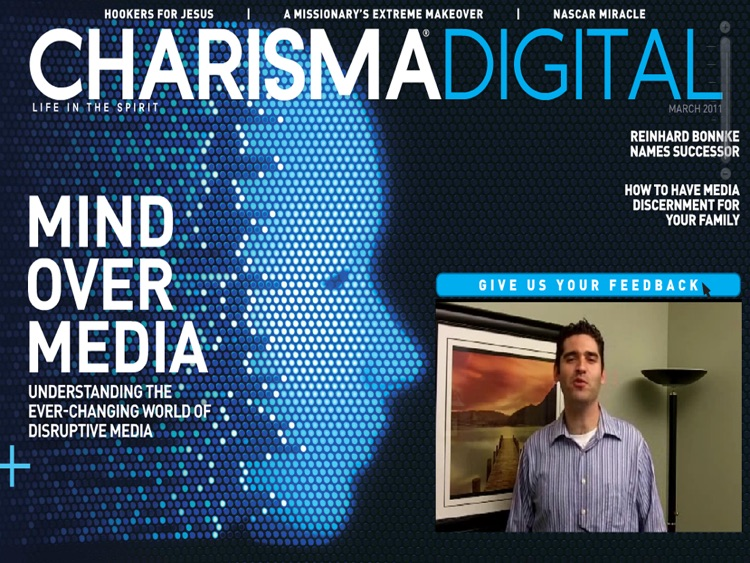 Charisma Media Magazine screenshot-0