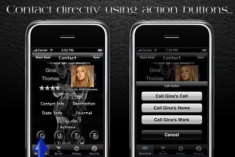 Black Book - Free version screenshot-4