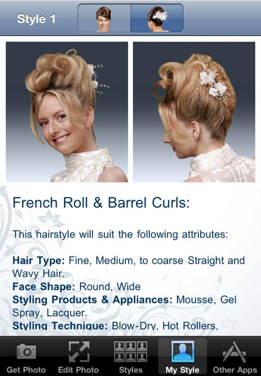 Wedding & Prom Hairstyles screenshot-4