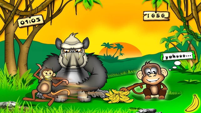 Monkey & Bananas Screenshot